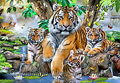 Howard, REALISTIC ANIMALS, REALISTISCHE TIERE, ANIMALES REALISTICOS, paintings+++++,GBHR950,#a#, EVERYDAY ,selfies