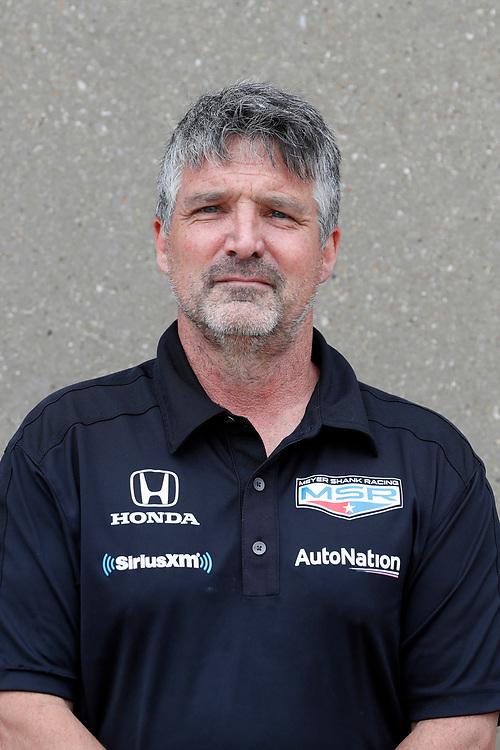 #60: Jack Harvey, Meyer Shank Racing Honda crew headshots