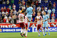 Harrison, NJ - Thursday Sept. 15, 2016: Christopher Ramirez during a CONCACAF Champions League match between the New York Red Bulls and Alianza FC at Red Bull Arena.