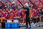 FC Internazionale Coach Luciano Spalletti gestures during the International Champions Cup match between FC Bayern and FC Internazionale at National Stadium on July 27, 2017 in Singapore. Photo by Marcio Rodrigo Machado / Power Sport Images