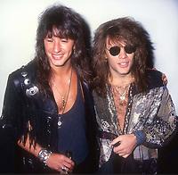 Richie Sambora Jon Bon Jovi 1990<br /> Photo by Adam Scull/PHOTOlink