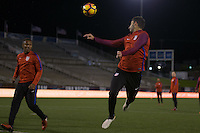 Chattanooga, TN - February 2, 2017: The USMNT train in preparation for their international friendly match against Jamaica at Finley Stadium.