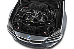 Car Stock 2016 BMW M6 Coupe - 3 Door Coupe Engine  high angle detail view