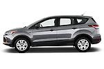 2013 Ford Escape S SUV <br /> Driver side profile view Stock Photo