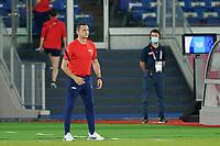 YOKOHAMA, JAPAN - JULY 30: Head coach of the United States Vlatko Andonovski during a game between Netherlands and USWNT at International Stadium Yokohama on July 30, 2021 in Yokohama, Japan.