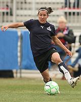 Lisa De Vanna of the Washington Freedom controls the ball  during a WPS pre season match against Sky Blue F.C. at Maryland Soccerplex,in Boyd's, Maryland on March 14 2009. Sky Blue won the match 1-0