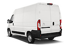 Angular Rear three quarter view of 2015 Citroen JUMPER L2H2 5 Door Cargo Van Stock Photo