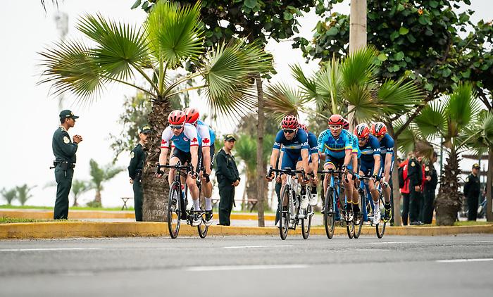 Lowell Taylor and Andrew Davidson - Lima 2019. Para Cycling // Paracyclisme.<br /> Lowell Taylor and Andrew Davidson compete in the road race // Lowell Taylor and Andrew Davidson participent à la course sur route. 01/09/2019.