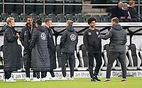 Julian Brandt (Deutschland Germany), Jonathan Tah (Deutschland Germany), Matthias Ginter (Deutschland Germany), Serge Gnabry (Deutschland Germany), Joshua Kimmich (Deutschland Germany) - 16.11.2019: Deutschland vs. Weißrussland, Borussia Park Mönchengladbach, EM-Qualifikation DISCLAIMER: DFB regulations prohibit any use of photographs as image sequences and/or quasi-video.