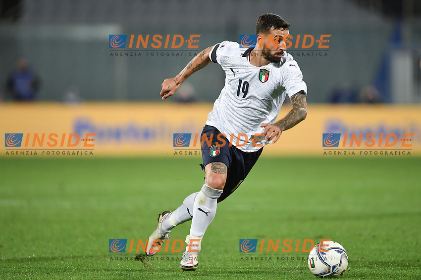 Francesco Caputo of Italia during the friendly football match between Italy and Moldova at Artemio Franchi Stadium in Firenze (Italy), October, 7th 2020. Photo Andrea Staccioli/ Insidefoto