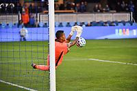 SAN JOSE, CA - MARCH 7: San Jose Earthquakes goalkeeper Daniel Vega #17 during a game between Minnesota United FC and San Jose Earthquakes at Earthquakes Stadium on March 7, 2020 in San Jose, California.