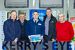 Pat Kelleher Lissivigeen Com Alert, Andrew Murphy, Kenmare Pat Cronin IFA and Christy Lehane  at the Garda meet and greet in the Killarney Heights Hotel on Friday