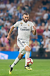 Karim Benzema of Real Madrid in action during the La Liga 2018-19 match between Real Madrid and CD Leganes at Estadio Santiago Bernabeu on September 01 2018 in Madrid, Spain. Photo by Diego Souto / Power Sport Images