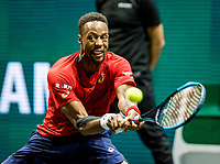 Rotterdam, The Netherlands, 16 Februari 2020, ABNAMRO World Tennis Tournament, Ahoy,<br /> Mens Single Final: Gaël Monfils (FRA), <br /> Photo: www.tennisimages.com