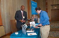 Exhibitor Tables at Conference
