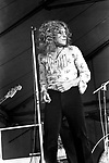 Led Zeppelin 1969 Robert Plant at Bath Festival