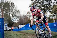 Eli Iserbyt (BEL/Pauwels Sauzen-Bingoal) .<br /> <br /> Koppenbergcross 2020 (BEL)<br /> men's race<br /> <br /> ©kramon