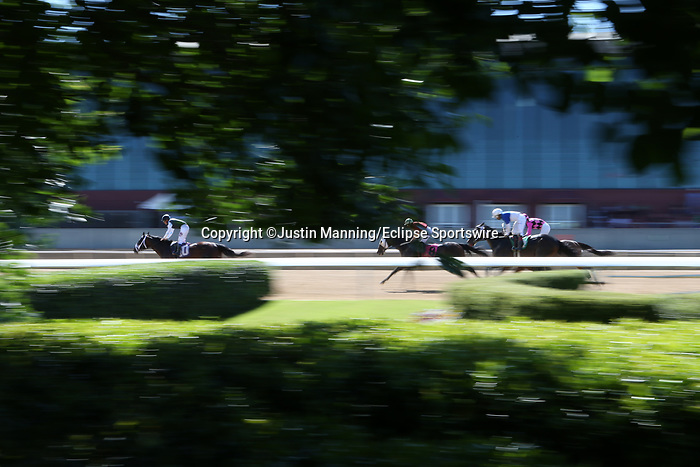 May 2, 2020: Scenery during race 8 before the the Arkansas Derby at Oaklawn Racing Casino Resort in Hot Springs, Arkansas on May 2, 2020. Justin Manning/Eclipse Sportswire/CSM