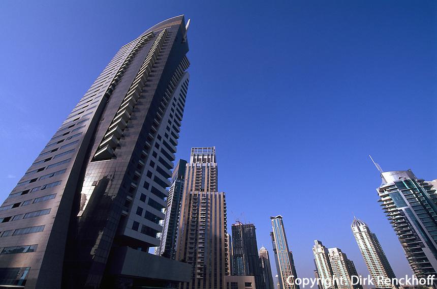 Dubai Marina, Dubai, Vereinigte arabische Emirate (VAE, UAE)