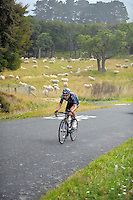 Stage four of the NZ Cycle Classic UCI Oceania Tour in Wairarapa, New Zealand on Wednesday, 25 January 2017. Photo: Dave Lintott / lintottphoto.co.nz