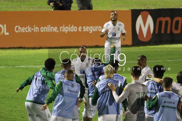 Campinas (SP), 02/01/2021 - Guarani-América - Rodolfo comemora gol do América. Partida entre Guarani e América válida pelo Campeonato Brasileiro da Série B neste sábado (02) no estádio Brinco de Ouro em Campinas, interior de São Paulo.