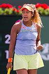 March 18, 2018: Naomi Osaka (JPN) defeated Daria Kasatkina (RUS) 6-3, 6-2 in the Finals of the BNP Paribas Open at the Indian Wells Tennis Garden in Indian Wells, California. ©Mal Taam/TennisClix/CSM