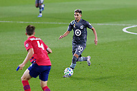 ST PAUL, MN - SEPTEMBER 9: Emanuel Reynoso #10 of Minnesota United FC dribbles the ball during a game between FC Dallas and Minnesota United FC at Allianz Field on September 9, 2020 in St Paul, Minnesota.