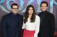 """Josh Gad, Idina Menzel and Jonathan Groff<br /> arriving for the """"Frozen 2"""" premiere at the BFI South Bank, London.<br /> <br /> ©Ash Knotek  D3537 17/11/2019"""