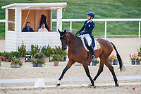 SWE-Malin Petersen rides Charley Brown 311 during the Dressage. 2021 SUI-FEI European Eventing Championships - Avenches. Switzerland. Friday 24 September 2021. Copyright Photo: Libby Law Photography