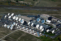 aerial photograph antenna farm Cheyenne, Wyoming