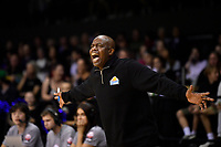 Assistant coach Kenny McFadden of the Saints  during the round two NBL match between the Wellington Saints and the Southland Sharks at TSB Bank Arena, Wellington, New Zealand on Friday 7 May 2021.<br /> Photo by Masanori Udagawa. <br /> www.photowellington.photoshelter.com
