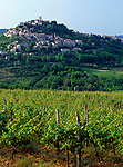 Kroatien, Istrien, Motovun: malerisches Staedtchen im Norden   Croatia, Istria, Motovun: picturesque town in the north