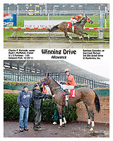 Winning Drive winning at Delaware Park on 10/29/11