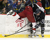 Dan Ford (Harvard - 5), Brett Gensler (Bentley - 26) - The Harvard University Crimson defeated the visiting Bentley University Falcons 5-0 on Saturday, October 27, 2012, at Bright Hockey Center in Boston, Massachusetts.