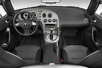 Straight dashboard view of a 2008 Pontiac Solstice.