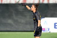 4th September 2021; Agostino di Bartolomei Stadium, Rome, Italy; Serie A womens championship football, AS Roma versus Napoli ; Goalkeeper Camelia Ceasar of Roma