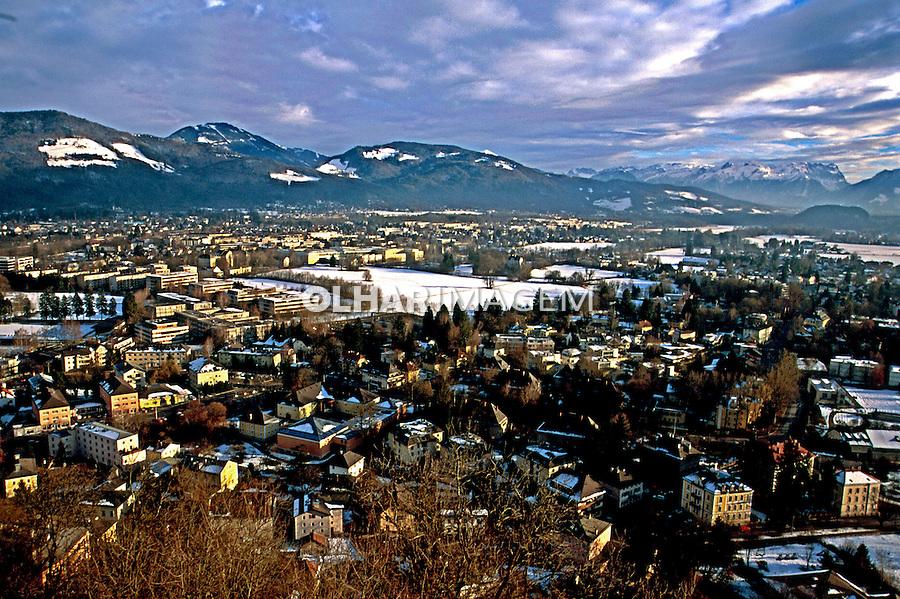 Cidade de Salsburgo na Áustria. 2000. Foto de Nair Benedicto.