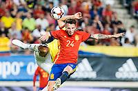 Saul Iniguez of Spain during the friendly match between Spain and Colombia at Nueva Condomina Stadium in Murcia, jun 07, 2017. Spain. (ALTERPHOTOS/Rodrigo Jimenez) (NortePhoto.com) (NortePhoto.com)