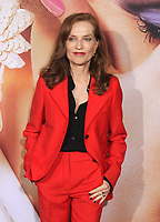 NEW YORK, NY - SEPTEMBER 14: Isabelle Huppert at the New York Premiere of The Eyes Of Tammy Faye at the SVA Theatre in New York City on September 14, 2021. Credit: Erik Nielsen/MediaPunch