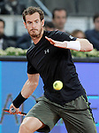 Andy Murray, Great Britain, during Madrid Open Tennis 2015 match.May, 6, 2015.(ALTERPHOTOS/Acero)
