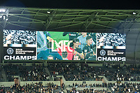 Los Angeles, CA - September 25, 2019: LAFC defeated Houston Dynamo 3-1 in an MLS match at Banc of California stadium in Los Angeles.  With the win, LAFC captured the Supporters'