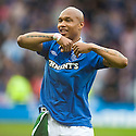 :: RANGERS' EL HADJI DIOUF AT THE END OF THE GAME ::
