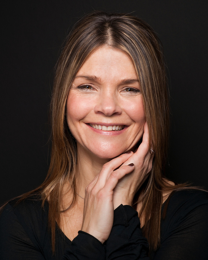 Kathryn Erbe photographed at the Sundance Film Festival for 'Art & Soul'