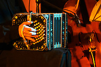 Traditional Uruguayan tango music with a Bandoneon accordion Montevideo, Uruguay, South America Uruguay wine production institute Instituto Nacional de Vitivinicultura INAVI
