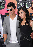 Demi Lovato & Joe Jonas at Nickelodeon's 23rd Annual Kids' Choice Awards held at Pauley Pavilion in Westwood, California on March 27,2010                                                                                      Copyright 2010 © DVS / RockinExposures