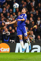 Cesar Azpilicueta of Chelsea during the UEFA Champions League match between Chelsea and Maccabi Tel Aviv at Stamford Bridge, London, England on 16 September 2015. Photo by David Horn.