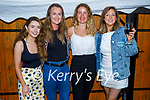 Enjoying the evening in Croi on Saturday, l to r: Chloe Halpin, Niamh Collins, Kate O'Connor and Pauline Fennell.