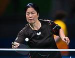 Stephanie Chan, Rio 2016 - Para Table Tennis // Para tennis de table.<br /> Stephanie Chan competes in the Women's Singles Class 7 Table Tennis Semifinal // Stephanie Chan participe à la demi-finale de tennis de table en simple féminin classe 7. 11/09/2016.
