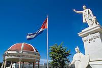 Statues in Parque Jose Marti, Cienfuegos, Cuba.