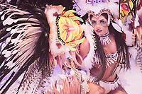 PARINTINS, AM, 30.06.2019: PARINTINS-AMAZONAS. Marciele Albuquerque, Cunhã-Poranga. Apresentação do Boi Caprichoso na terceira e última noite do 54o festival Folclorico de Parintins, neste domingo (30), no bumdódromo. Parintins fica a 370 km de Manaus.<br /> Foto: Sandro Pereira/Codigo19